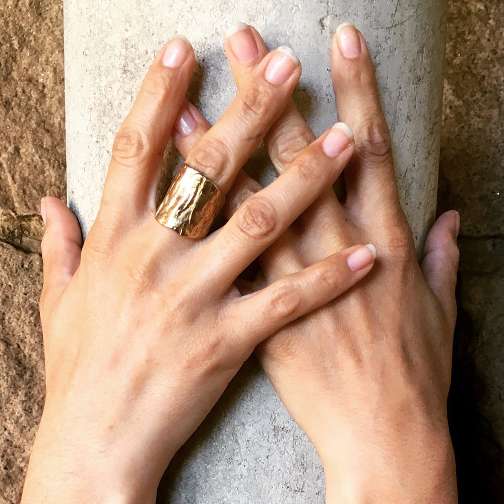 Ancestor Ring - Gold Vermeil