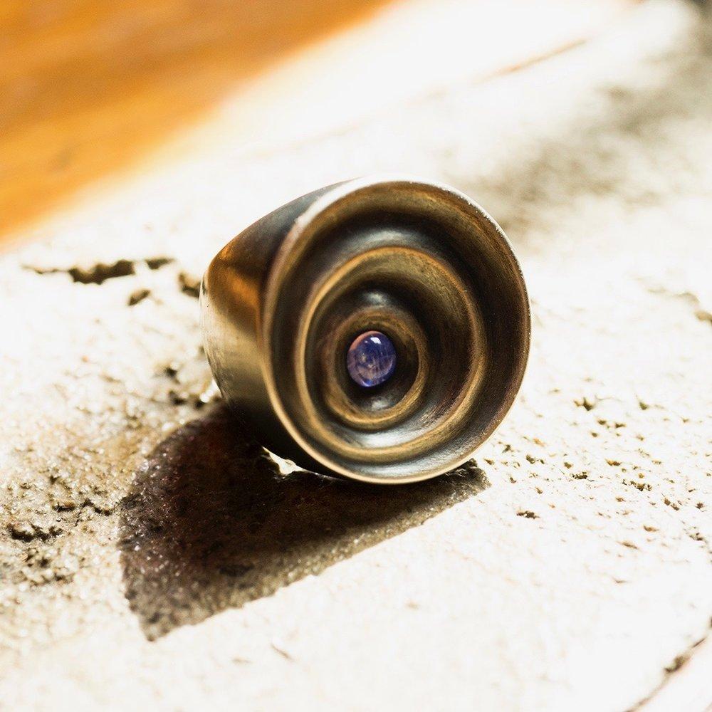 Karma Ring - Sterling Silver/Moonstone