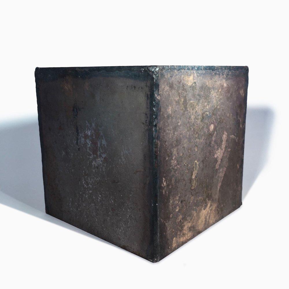 2   Steel Box   Fabricated for Constance De Jong Installation  1997.jpg