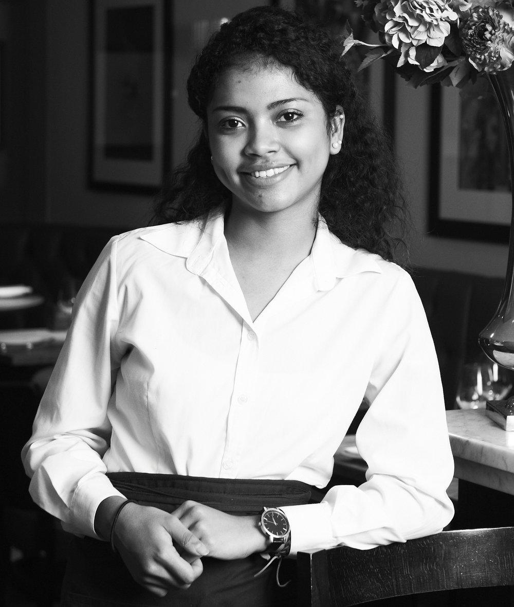 Naomie Ratsimbazafy Chef de Rang