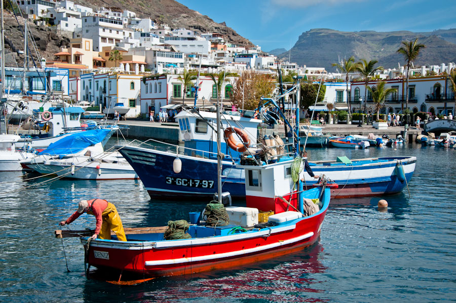 Holiday in Puerto de Mogan