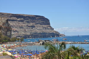 View from HD Mogan Beach Apartments - Playa de Mogan