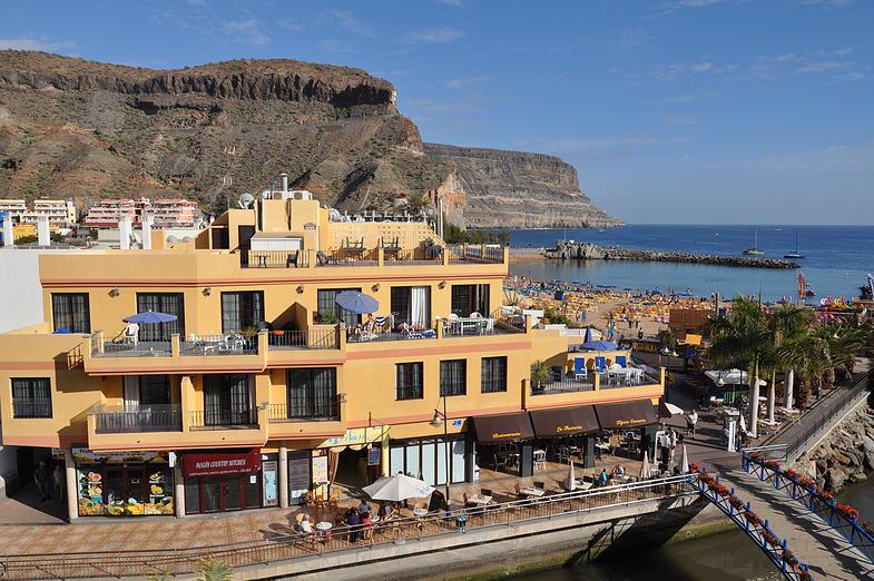 Your Holiday accommodation in puerto de mogán- HD Mogan beach apartments