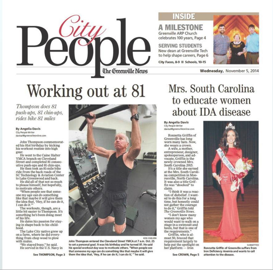 Greenville News - City People 11-5-14.jpg