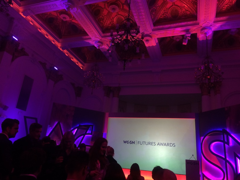 WGSN Futures Awards Ceremony