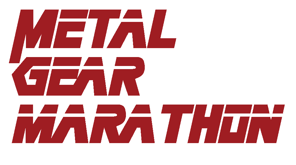 Metal Gear Marathon