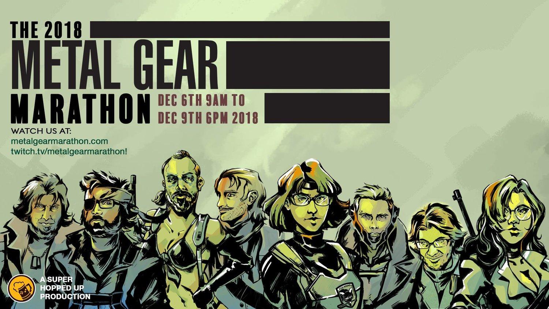 Metal Gear Marathon