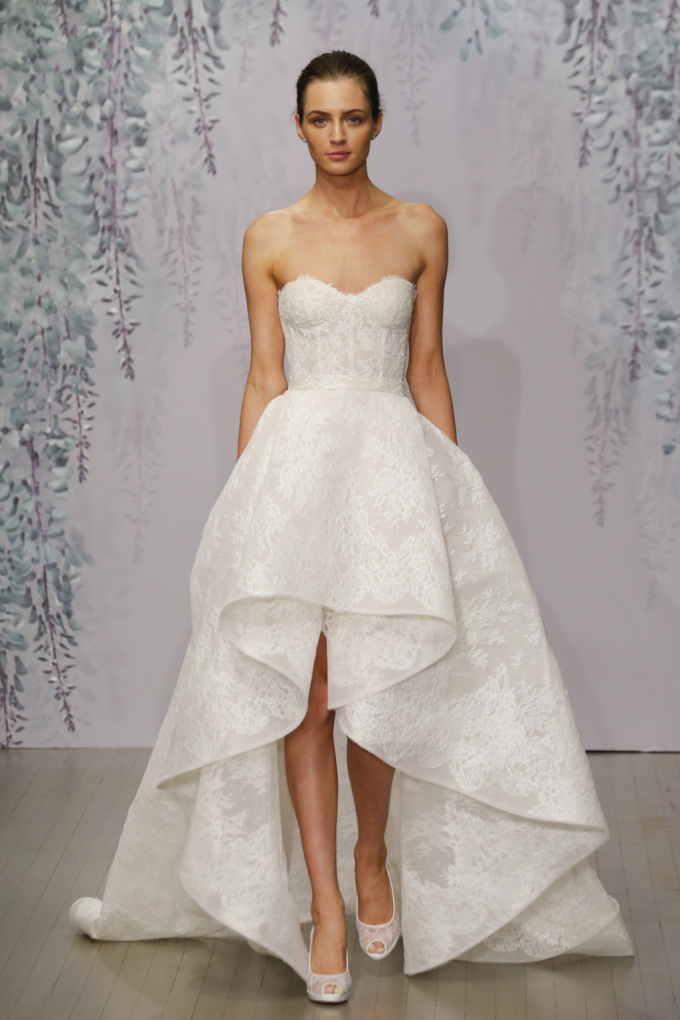 3df583be66348 Bridal Fashion Week affirmed the presence of a few trends we seem to get  questions on. These trends are going to stick around and be seen all over  Pinterest ...