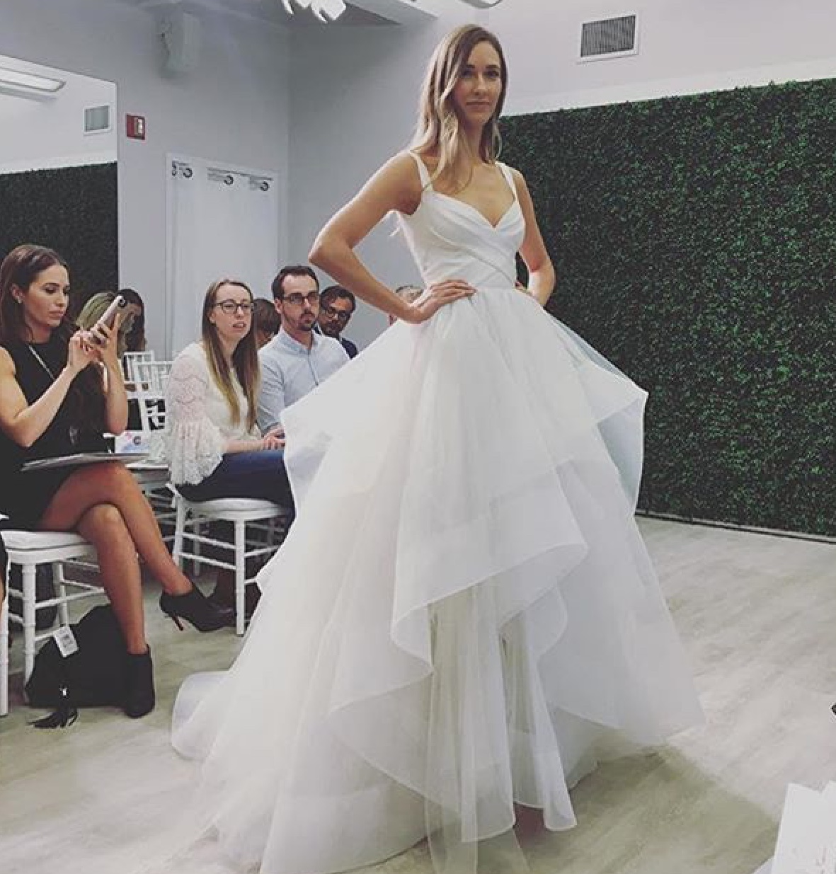 59b799fd83 Many of our Hayley Paige picks were nothing like our last Hayley Paige buy.  Some of these 2018 gowns will be replacing older styles in our store that  have a ...