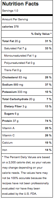 Nutrition facts for greek chicken fit bowl.png