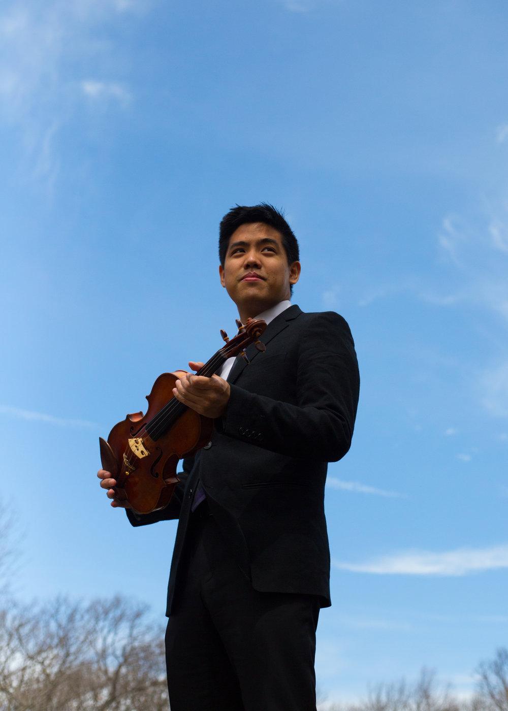 Zenas Hsu, Concertmaster