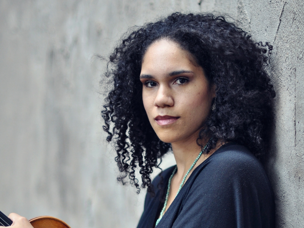 Jessie Montgomery - Banner - 2014 | 9 Minutes- Jessie Montgomery is a New York based violinist, composer, and music educator. She wrote Banner for string quartet with an accompaniment of string orchestra.-Though Banner was commissioned to celebrate the 200th anniversary of the Star Spangled Banner, Jessie notes,