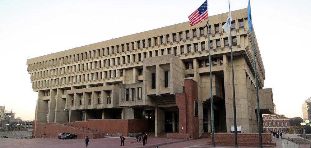 City Hall, Boston