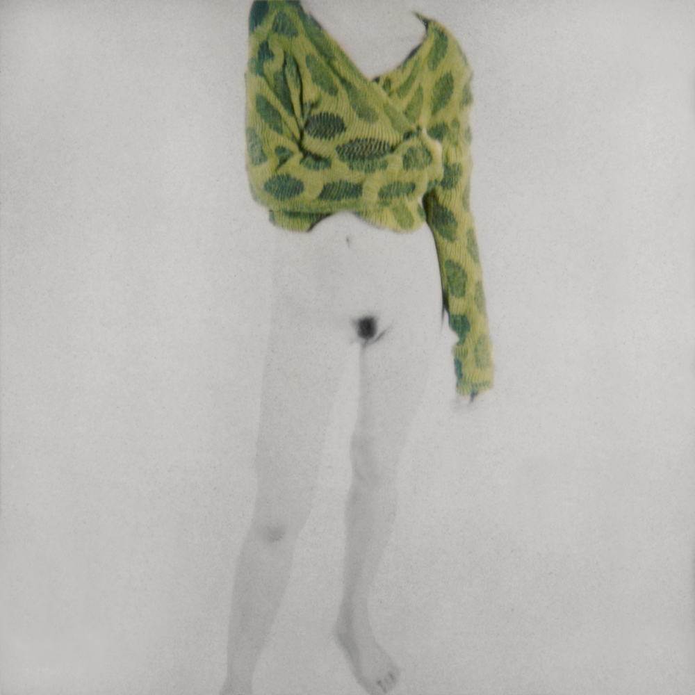 Female Figure with Green Blouse (Lime Leaves)