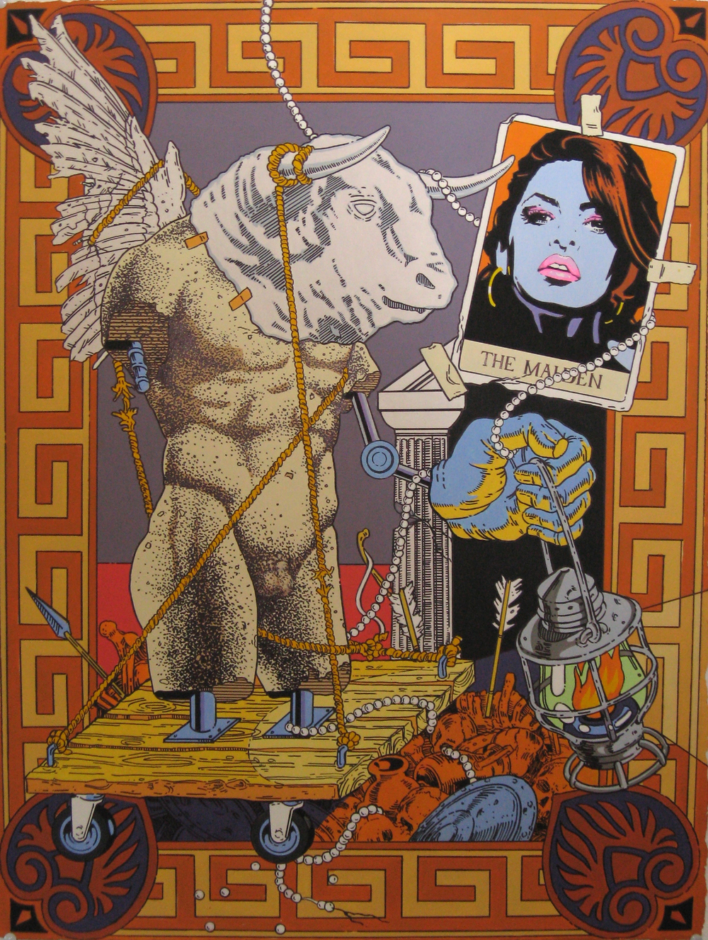 The Minotaur and Maiden_22x30in_mixed media on 300 lb watercolor paper_retouched_lg.jpg