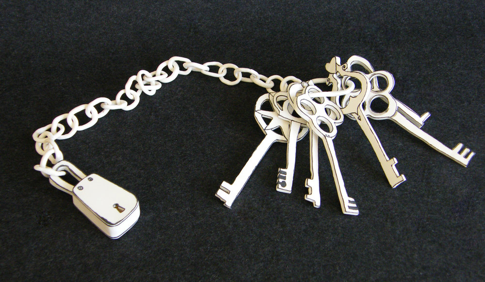 KM_Keys on chain _ L 80cm_2017.jpg