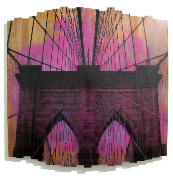 HGU_Brooklyn Bridge III-Sunset Magenta_2017_48x48in03_thumb.jpg