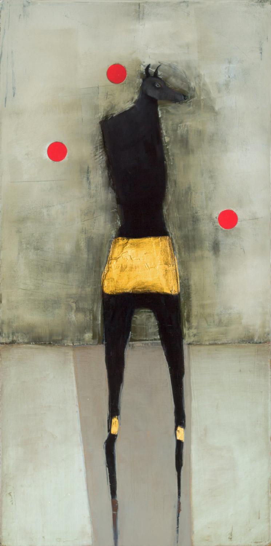 Seirios  Oil and enamel on canvas - 2019 - 15x10 inch / 38x25 cm