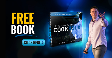 Claim Your Free Funnel Hacker Cookbook TODAY  and learn how to leverage sales funnels with email marketing.