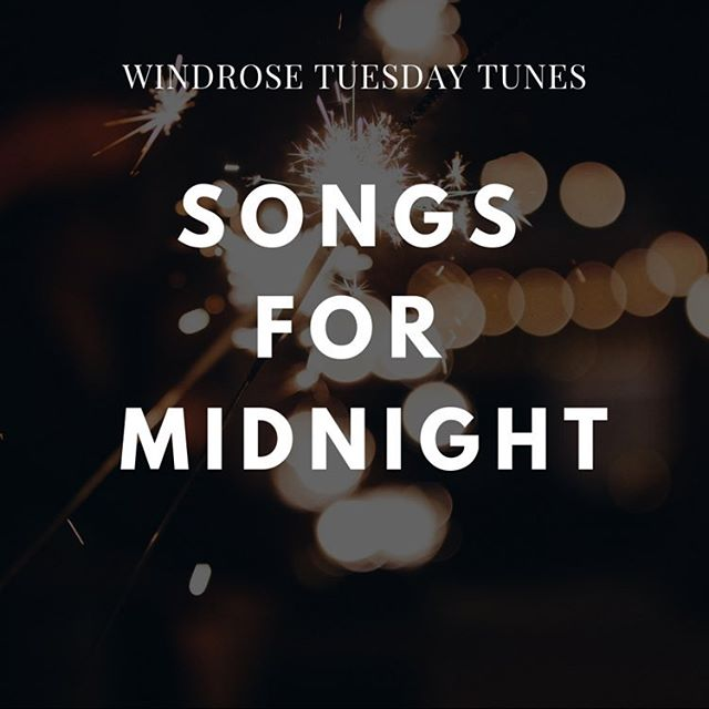 "TUESDAY TUNES: Songs for Midnight ('cuz it'll be Tuesday at midnight, get it?) | 📝: @missmelis115 // ""I didn't just feel one way this year. I can't fit these twelve months neatly into one emotional box. My joys were tinged with sadness; my pain was its own kind of refining fire. For everything I felt, for everything I suffered and everything I loved, I want to walk into 2019 sharper and shimmering for it. And I want my New Year's Eve, and yours, to be about all of that."" // Read Melissa's 2018 reflection + get your groovy NYE playlist at WindroseMagazine.com ✨"