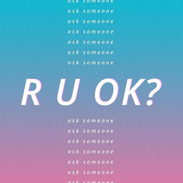 "#ruok? ⠀ Ask a colleague, friend, family member... ""R U OK?"" #ruokday"