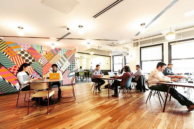 Excited to hear that @wework has a new location at Martin place, Sydney #gohustle #hotdesk #wework