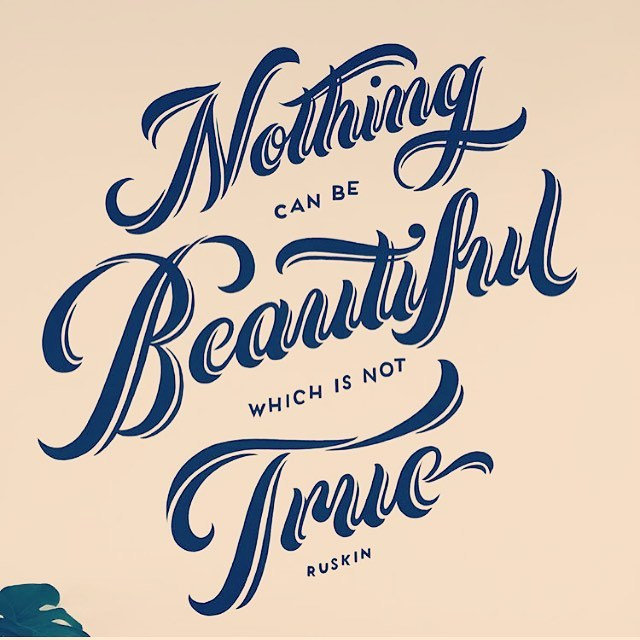 Nothing can be beautiful which is not true #honcho #inspo #startup repost @daniellelewisco 🙌🏻