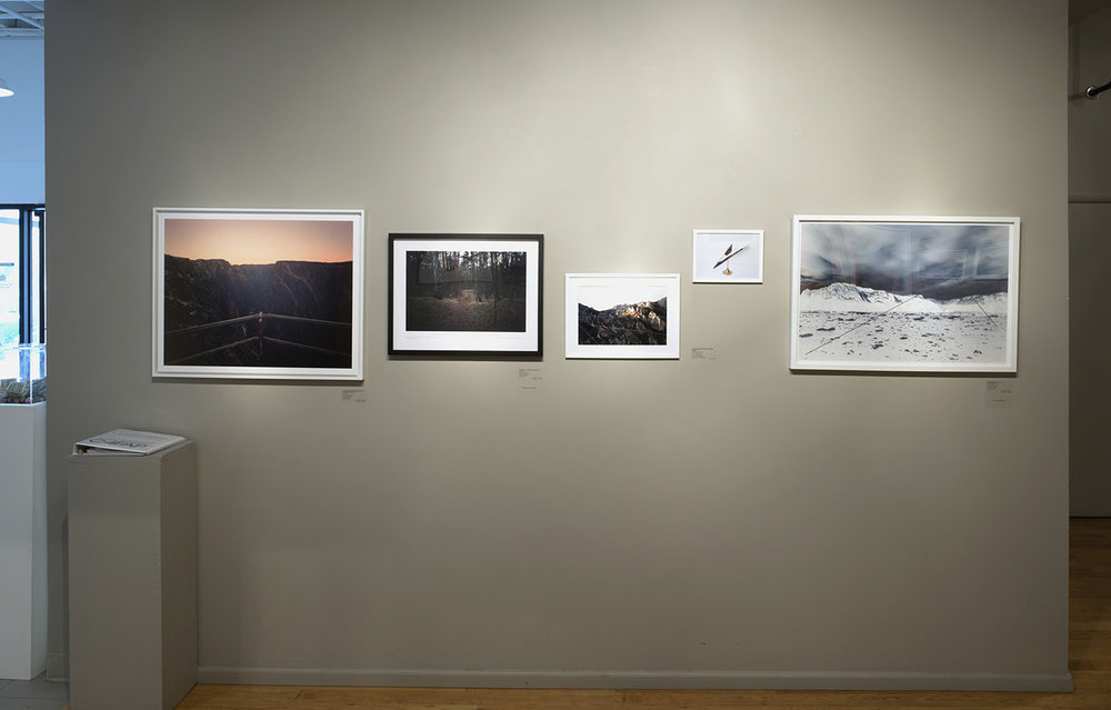 Installation View: 2016 Transitional Landscape, The Center for Fine Arts Photography, Ft. Collins, Colorado