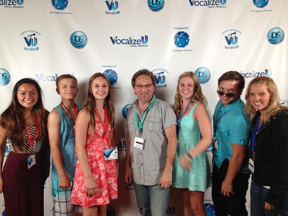 DMG clients attend2014 Vocalize U Artist IntensiveHollywood CA - - The Best Artist Development program in the world!