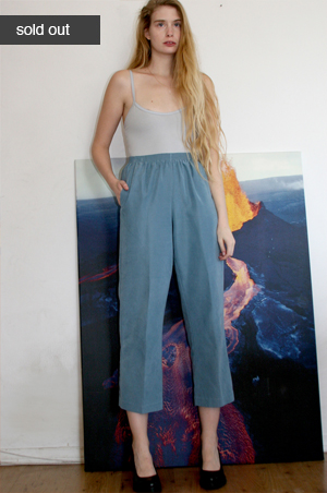 pleated pants  $20.00