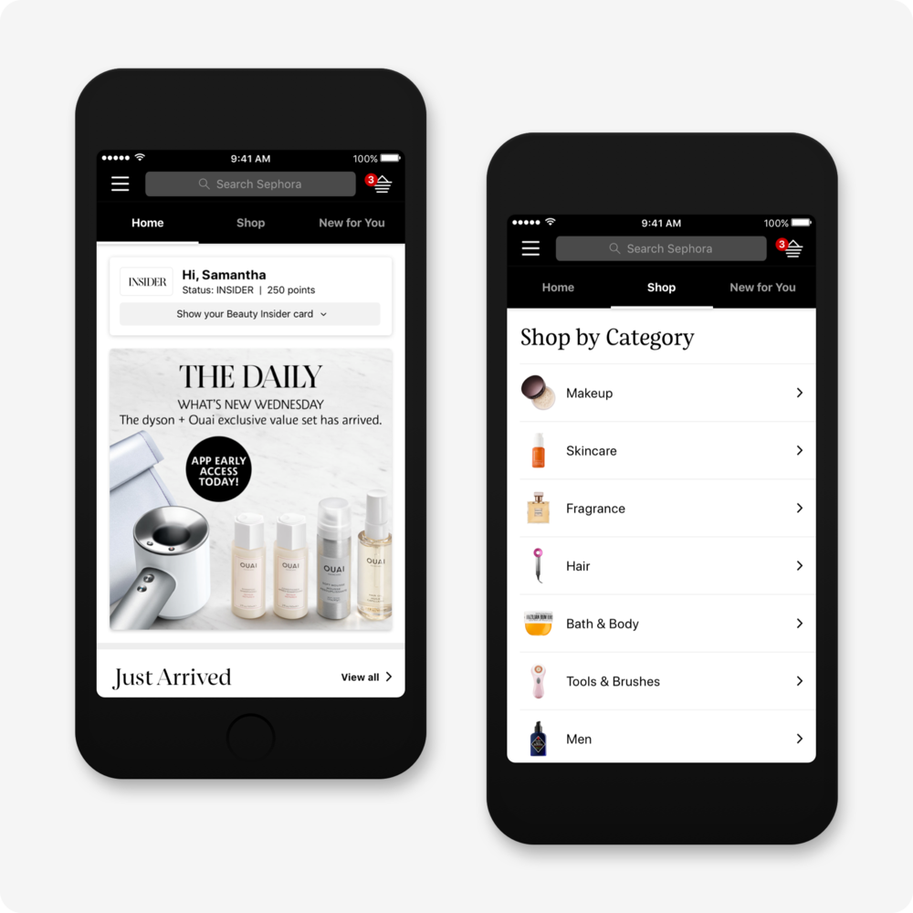 Sephora App for iOS — Brian Mahlstedt