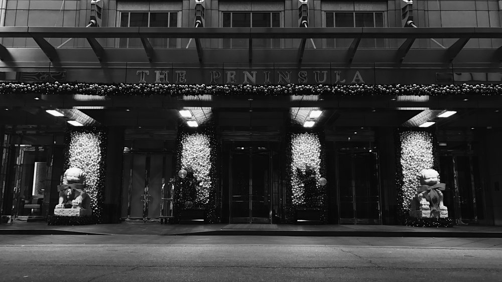 The Peninsula, Chicago, 1/2/2017