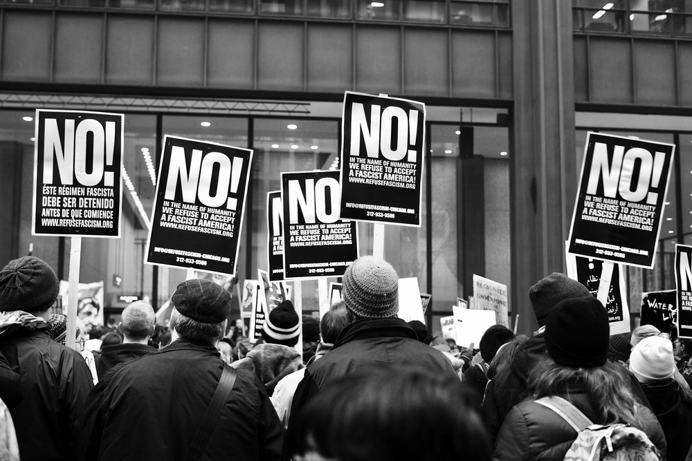 No!, Chicago, Inauguration Day 2017