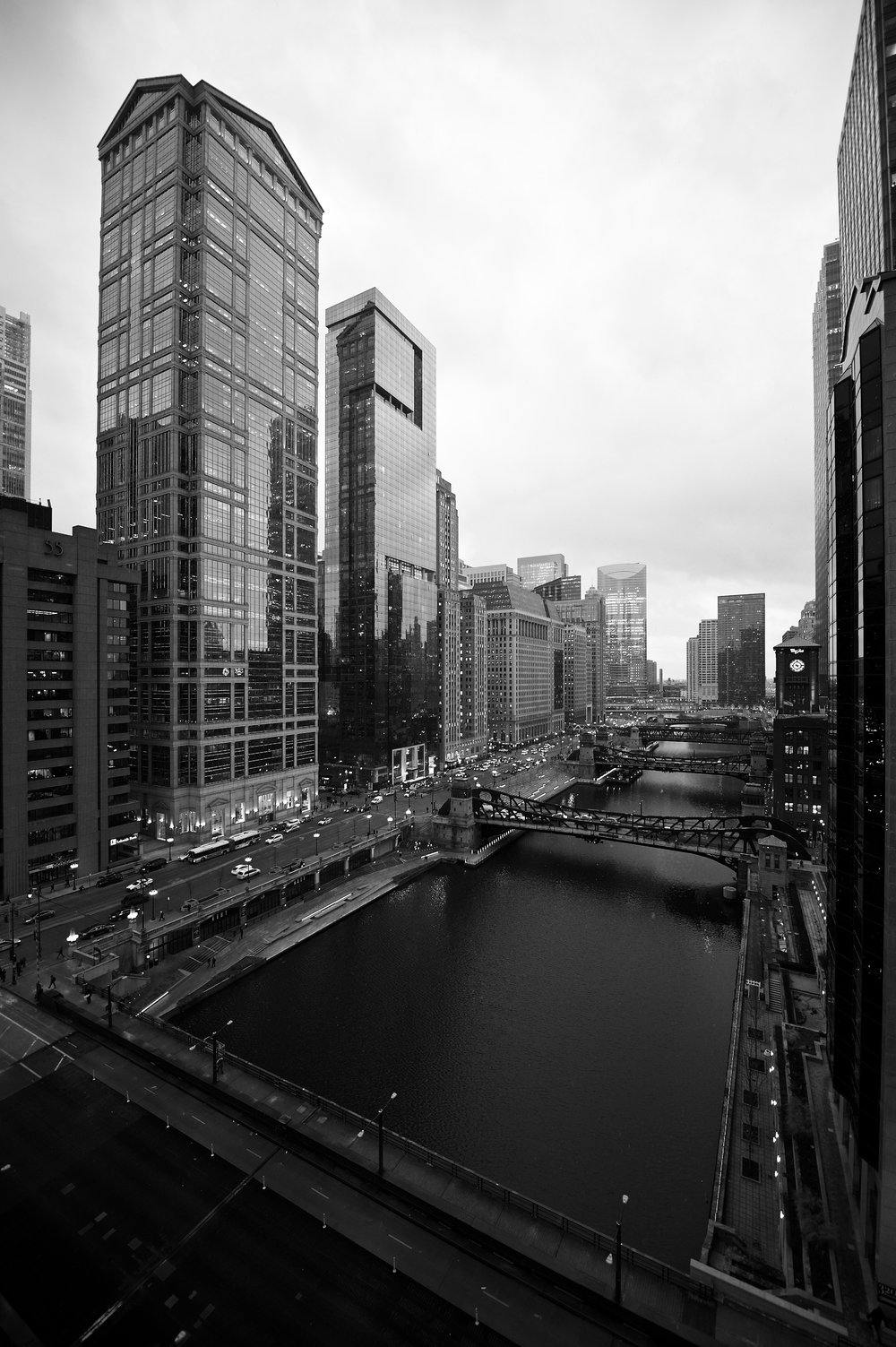 Chicago River, Chicago, 1/26/2017