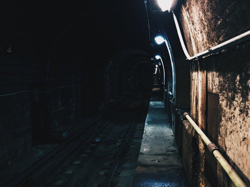 Tunnel, Chicago, 4/30/2017