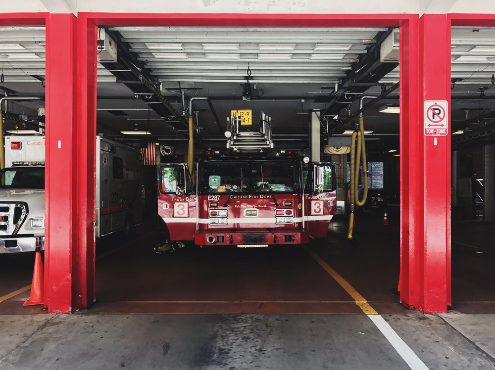 Fire Engine Red, Chicago, 5/31/2017