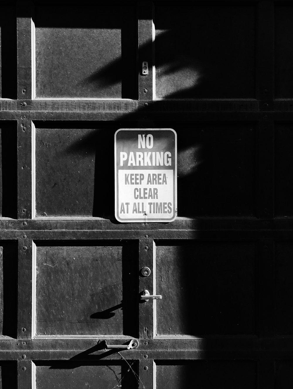 No Parking, Chicago, 7/6/2017