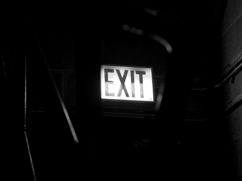Exit, Chicago, 7/7/2017