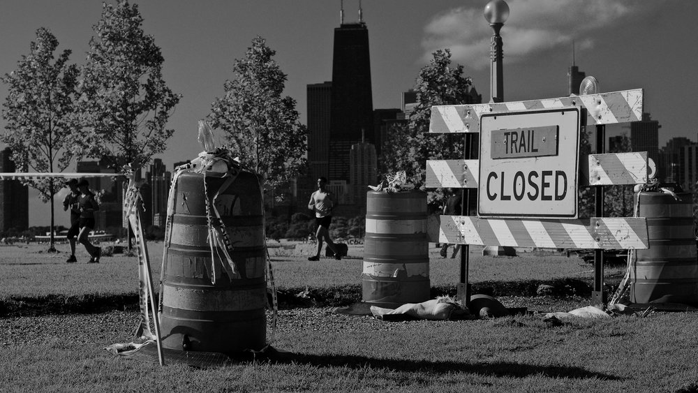 Trail Closed, Chicago, 7/15/2017