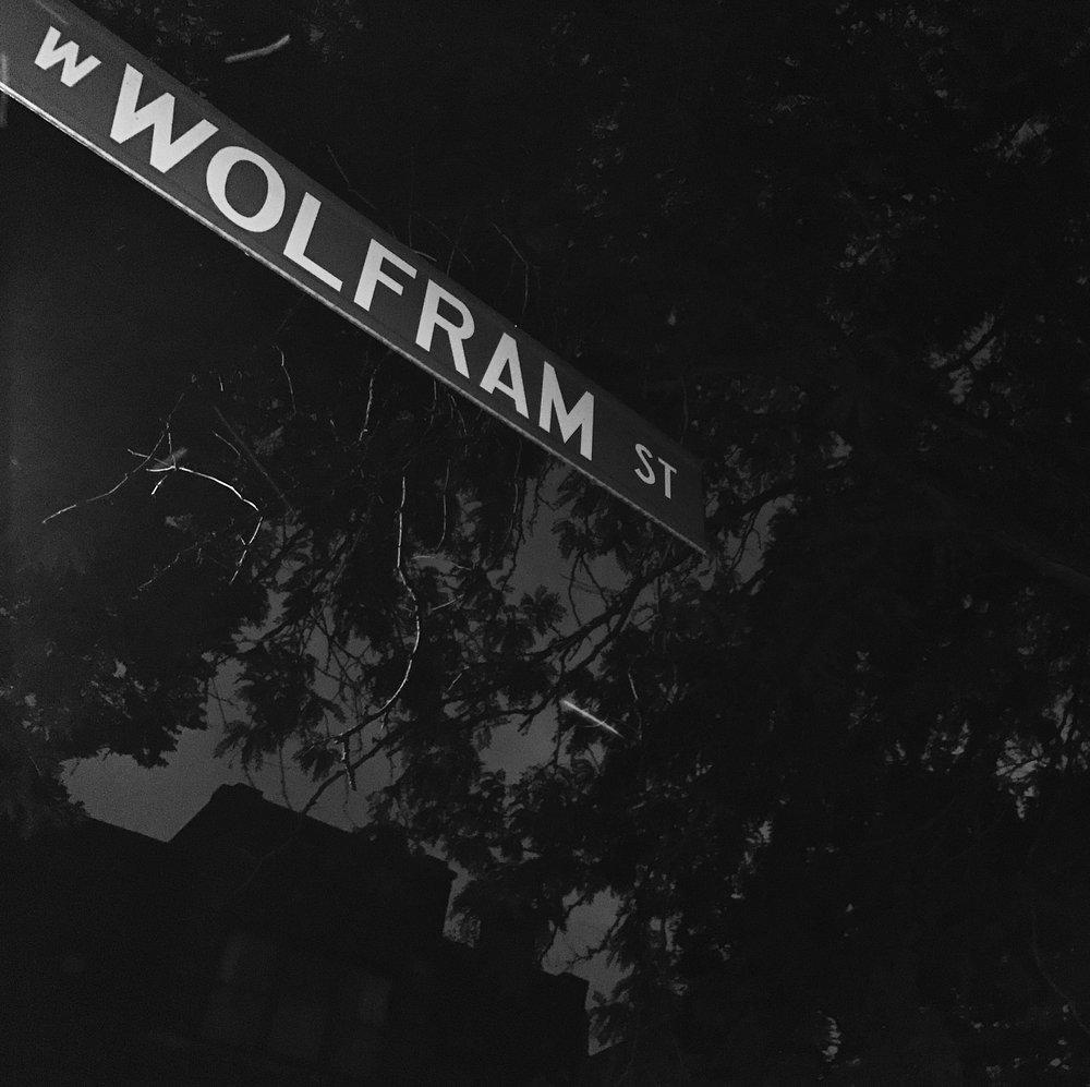 Wolfram, Chicago, 7/21/2017