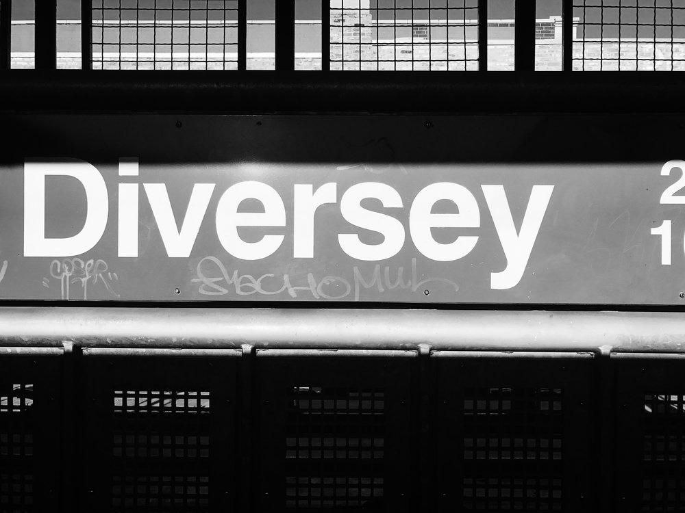 Diversey, Chicago, 2/28/2017