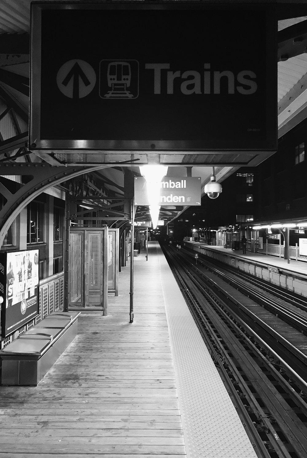 Train, Chicago, 8/28/2017