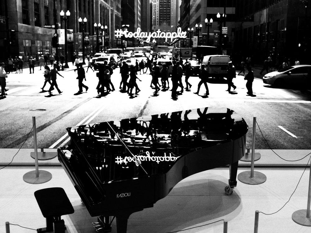 Piano, Chicago, 10/22/2017