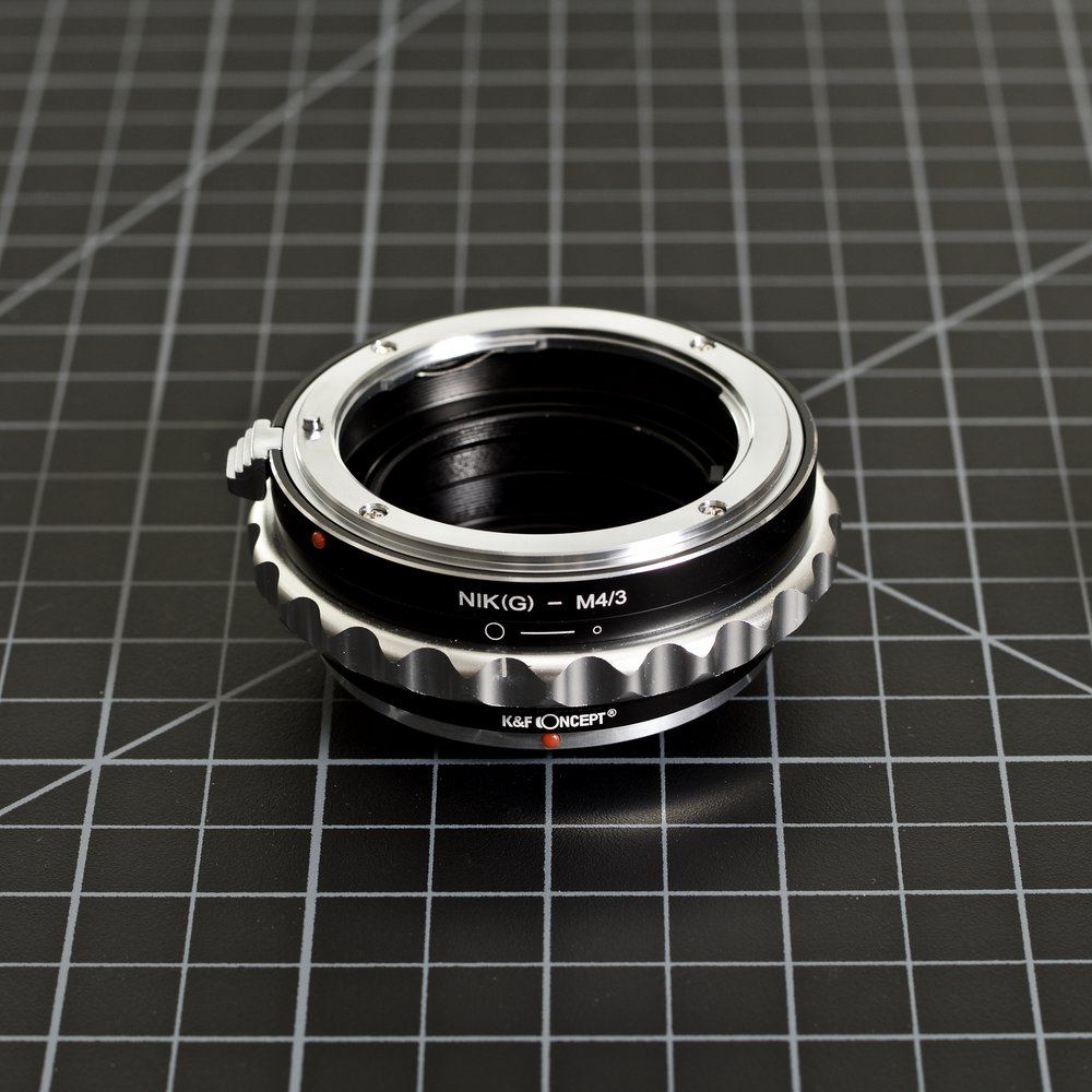 Nikon G (F Mount) to Micro Four Thirds