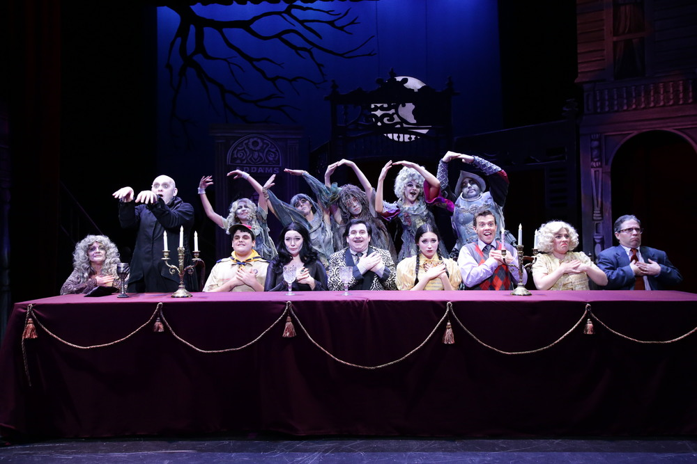 Addams Family, 2014, Stoneham Theater (full company)