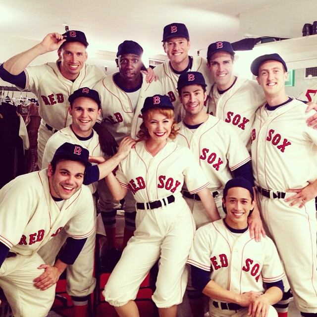 "Damn Yankees, 2014, Goodspeed Opera House, On for ""Gloria"" (with Men's Ensemble)"