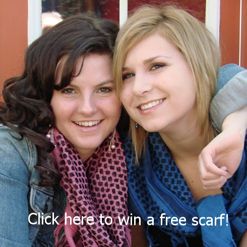 Click here to win a free scarf!