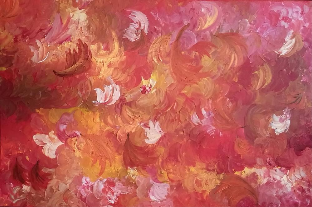Autumn Tumbler - SOLD