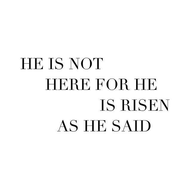 Rejoice! He is risen! {Matthew 28:6} Happy Easter, everyone! 🌷🌼🐰🌸 #easter #bandiez #sunday