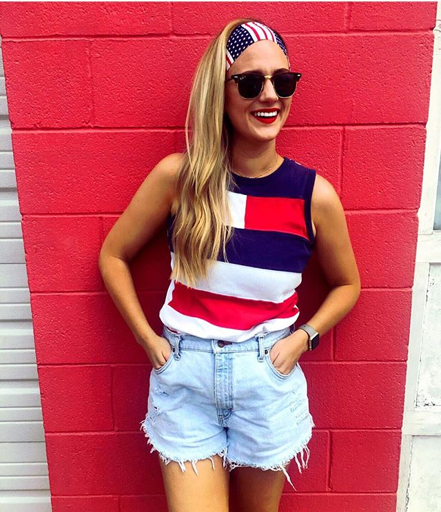 🇺🇸merica themed bandiez ✔️now the party can start! Happy 4th, y'all! #4thofjuly #bandiez #bandiezcouture #headbands #shopbrickwood